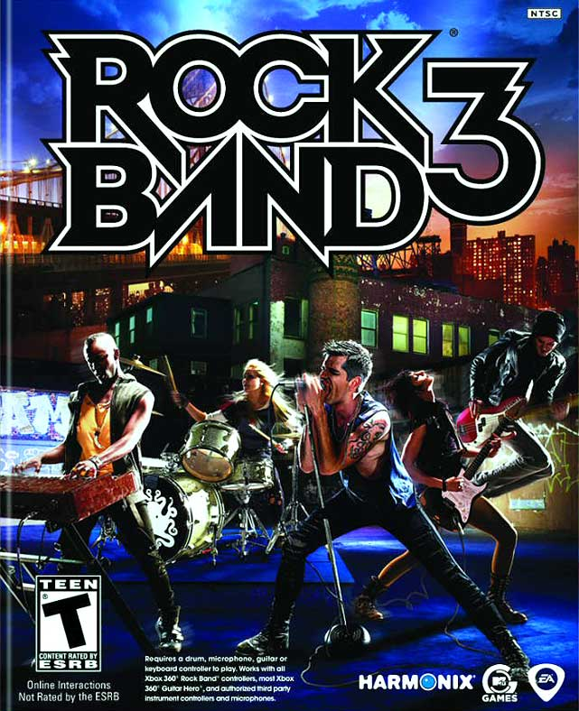 With its amazing keyboard peripheral, revolutionary Pro modes and a gigantic song catalog, Rock Band 3 represents the pinnacle of the music game genre.