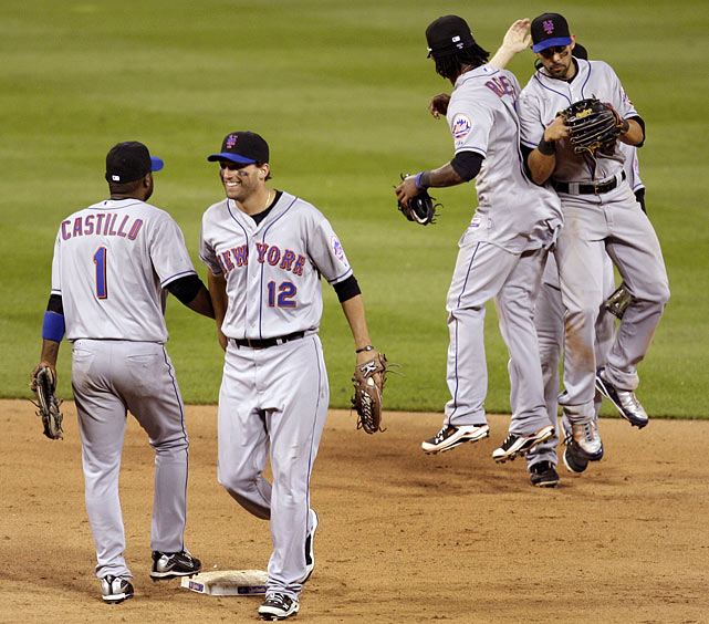 After 18 scoreless innings, both teams scratched across a run in the 19th. In top of the 20th, the Mets scored on a sacrifice fly, and in the bottom half, Mike Pelfrey, normally a starter, saved the win for Francisco Rodriguez, normally the closer. The game featured 19 pitchers, two of whom were position players and another two became position players if only for one night. The 18 scoreless innings was the longest a game had started without a run in more than 20 years.