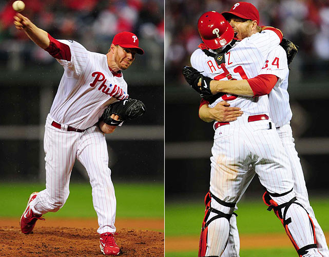 It's only fitting that the Year of the Pitcher be remembered best for a masterpiece from the mound. Roy Halladay, who had already thrown a perfect game back in May, became just the second man to throw a postseason no-hitter when he blanked the Reds in his playoff debut. Halladay struck out eight, walked just one and needed only 104 pitches to complete his gem.