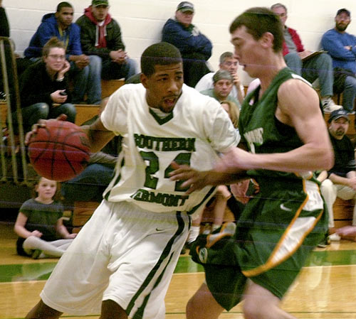 Skidmore and Southern Vermont set a Division III record and tied the longest men's game in any division with seven overtimes. Seven! The game, which was tied at 59-59 at the end of regulation, lasted three hours and 50 minutes, and each team had four players foul out. Southern Vermont's Taeshon Johnson led all scorers with 39 points and his teammate Lance Spratling played all 75 minutes in the loss.