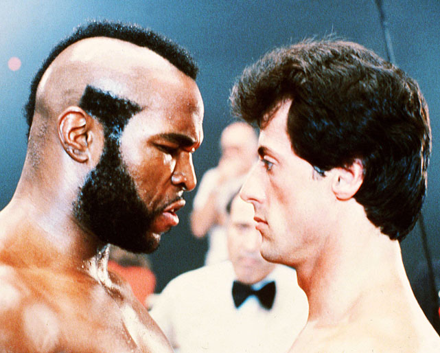 "Directed by Sylvester Stallone. Starring Sylvester Stallone, Talia Shire, Burt Young.   THE STORY  Ten title defenses after  Rocky II , the champ has grown wealthy, complacent and soft -- a ripe target for hungry, aggressive contender Clubber Lang (Mr. T). After losing the belt and trainer Mick to a heart attack, Rocky forms an unlikely alliance with fellow ex-champ Apollo Creed (Carl Weathers) in his search to regain the ""eye of the tiger.""  THE LEGACY  The film introduced both Mr. T and Hulk Hogan (who played hopped-up pro wrestler Thunderlips) to the cultural mainstream.  THE QUOTE  ""I live alone. I train alone. I win the title alone.""  --Clubber Lang"