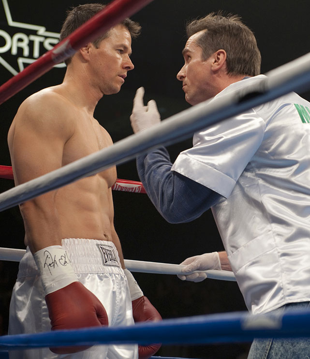 "Directed by David O. Russell. Starring Christian Bale, Mark Wahlberg, Amy Adams.   THE STORY  The real-life story of Micky Ward's improbable rise to the junior welterweight title delves into the family dynamic like few sports films before it.  THE LEGACY  The first great sports film of the decade is a wildly unpredictable chamber piece driven by unforgettable performances.  THE QUOTE  ""You're a stepping stone ... You're the guy they use against the other fighters to move the other fighters up.""  --Charlene Fleming (Adams)"