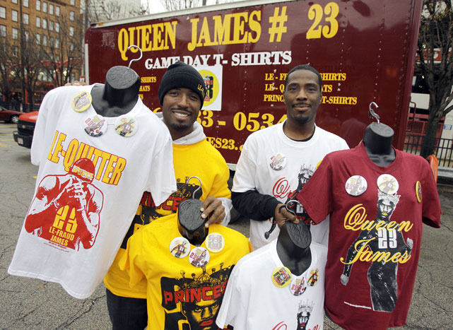 Former LeBron fans have now devoted their attention to another James: Queen James.