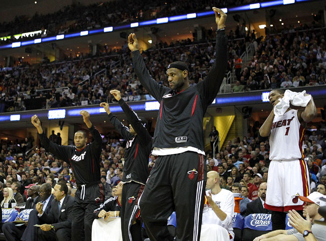 The crowd was loud, but the performances by LeBron and the Miami Heat silenced them by the second half.