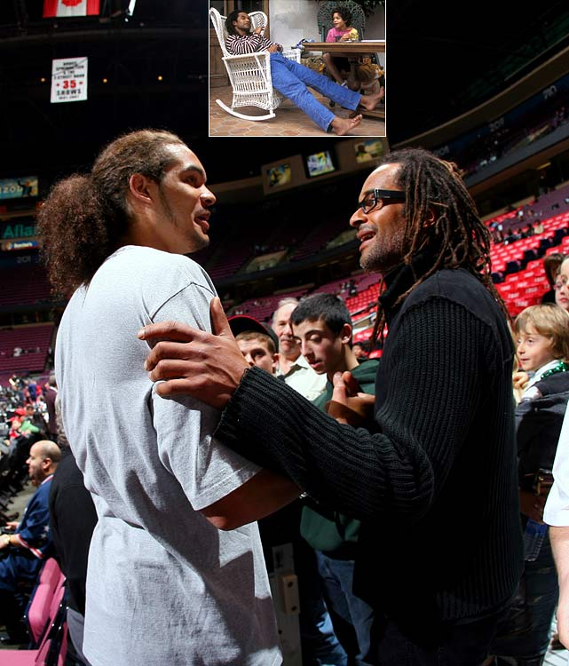 Championships run in this family: Yannick won the 1983 French open while Joakim led Florida to two NCAA men's basketball titles.