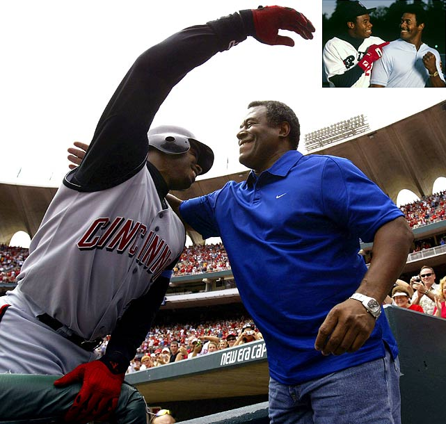 While playing together on the Mariners in 1990, the duo hit back-to-back homers, the only father-son pair in history to do so.