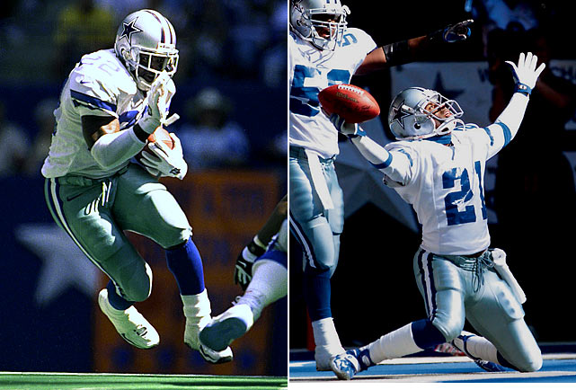 The 1999 Cowboys had plenty of star power to boast -- from Aikman and Smith to Irvin and Sanders; but in reality, that year served as the Hall of Fame-bound quartet's last hurrah in Big D. The club started out with a 3-0 flurry, before meekly plunging to 8-8 by regular season's end. And the 'Boys didn't fare much better in the playoffs, losing to the vaunted Vikings in the wild-card round.