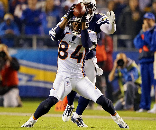 Lloyd was another undrafted wonder this year, turning in the best season of his career for the disappointing Broncos. He had 1375 receiving yards -- tops in the league as of  Week 16 -- on 72 catches and was a No. 1 fantasy starter for almost all season.