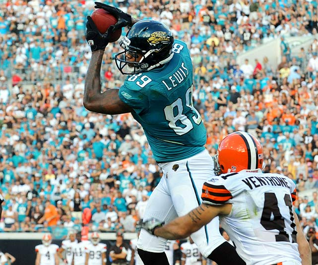Lewis only had two catches in Jacksonville's opening-week win, but each went for touchdowns -- a sign of things to come. Lewis set career highs with 674 yards receiving and nine touchdowns (though Week 16), making him the third or fourth most-valuable fantasy tight end.