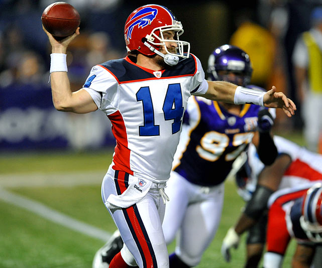 The Harvard man wasn't a starter when the season began. But with the Buffalo run game struggling, Fitzpatrick didn't start until Week 3 and still had his first 3,000-yard season. He threw a touchdown in every game he started until Week 16 and even rushed for 269 yards.