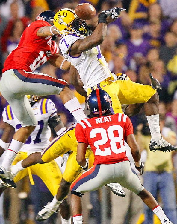 Peterson arguably possesses the best physical skills of all the top cornerbacks  in the nation. He's strong, fast and has the makings of a big-time player.  Peterson also displayed himself to be a dynamic return specialist this season,  which only adds to his value.    1 st Round  Prospect