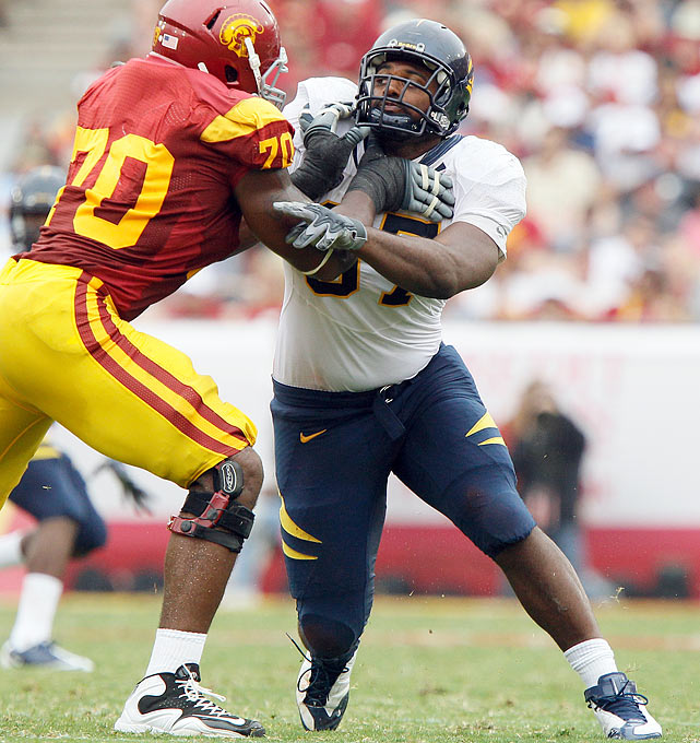 The Cal senior had a terrific career,  showing progress each of the past three seasons.   He consistently made big plays behind the  line of scrimmage while developing into a fine run stuffer in a three-man front.   1 st  Round  Prospect