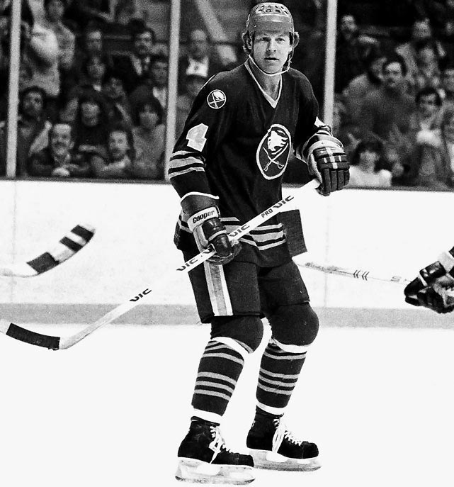 The former Canadiens, Rockies, Sabres and Nordiques blueliner (1973-84) just summons to mind the fistic side of the game...or the penalty box where he spent a relatively modest 465 minutes during his NHL career. Steve Kraftcheck sounds like he belonged in there, too.