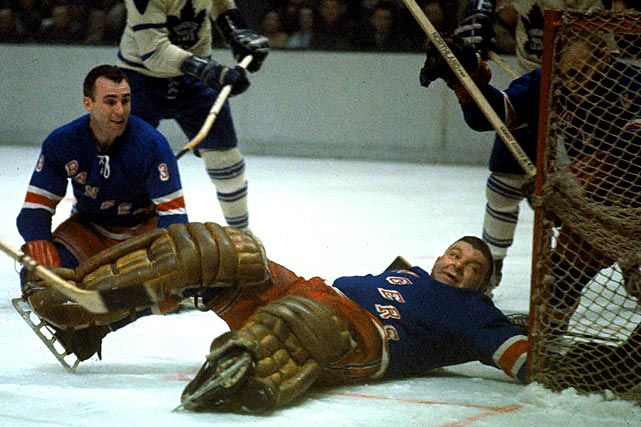 "The netminder's flat-top, nickname (his real first name  was Lorne) and roly-poly physique automatically made him a character, but his  priceless one-liners were icing on the donut. Among his best: when asked which  team gave him the most trouble, Worsley replied, ""The Rangers."" He was playing  for the Rangers at the time."