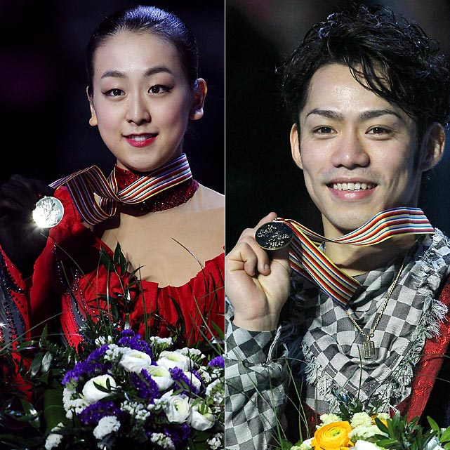 World championships directly following an Olympics can be misleading, as some stars skip the event and others simply aren't in top form. Olympic champion Kim Yu-na wasn't at her best and settled for silver behind rival Mao Asada (left). Evan Lysacek and Evgeni Plushenko didn't compete, opening the door for Vancouver bronze medalist Daisuke Takahashi (right) to become the first men's world champion from Japan.