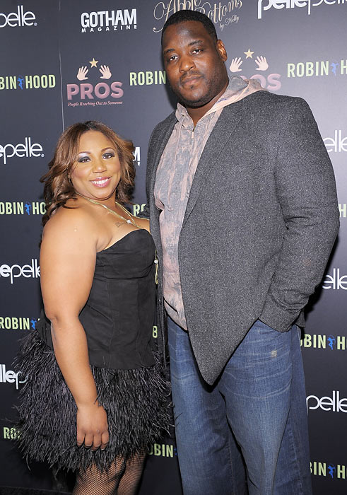 "Most NFL players have been silent on their criticism of Brady's hair, perhaps fearing on the field retribution for their words. Damien Woody (pictured here with his wife, Nicole) couldn't resist a jab at his former teammate. While leaving a charity fundraiser for New York's Pierre Hotel, Woody laughed when a TMZ reporter asked about the QB's coif, ""That long stuff Tom's got. That ain't happening."""
