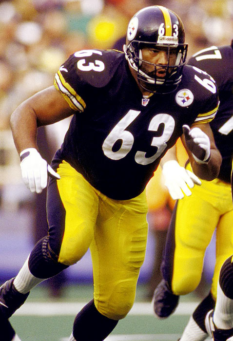 One of the all-time Steeler greats, Dermontti Dawson was a staple along the line throughout the 1990s. Dawson was elected to seven straight Pro Bowls between 1992-98, was named to six first-team All-Pro squads and was a NFL 1990s All-Decade team honoree.