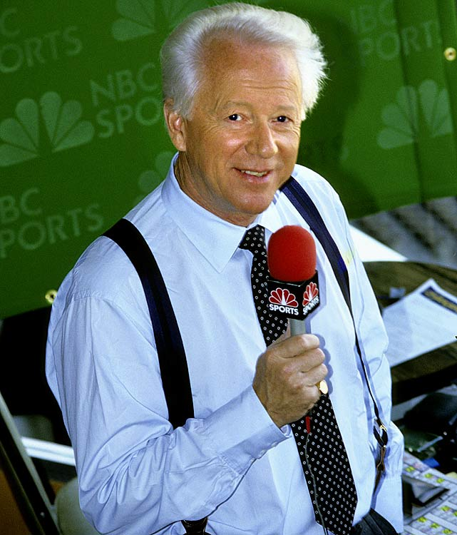 Jones made his name covering professional football, first for the AFL's Dallas Texans and later covering the NFL for NBC. In addition to football, the Arkansas native also covered the Olympics, Ryder Cup, Wimbledon, The World Cup and college football. Jones also owns the distinction of being one of the few sportscasters to win an Emmy Award. He took home the prize in 1973 for his role as producer, writer and host of the  documentary   Is Winning the Name of the  Game?