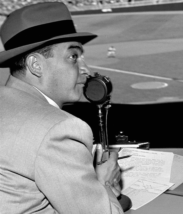 "Fifteen years after his death, Allen is still known as ""the Voice of the Yankees."" In his time as New York's primary broadcaster, ""How About That!"" became Allen's go-to home run call. In more than 50 years on the mic, Allen also broadcast college football, pro football, bowling and a handful of non-sports programs."