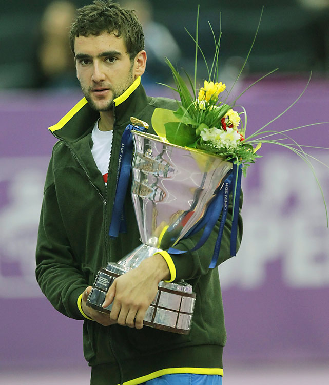 def. Janko Tipsarevic 6-3, 3-6, 6-2 ATP World Tour 250, Hard (Indoor), $663,750 St. Petersburg, Russia