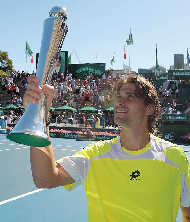def. David Nalbandian, 6-3, 6-3 ATP World Tour 250, Hard, $355,500 Auckland, New Zealand
