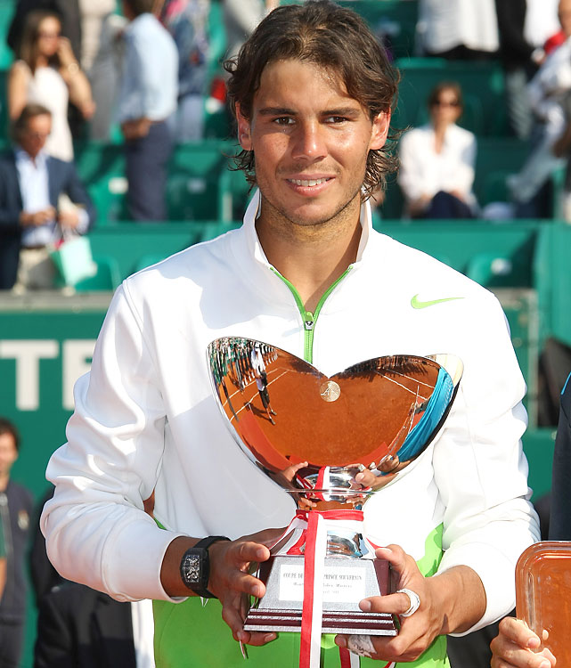 def. David Ferrer, 6-4, 7-5 ATP World Tour Masters 1000, Clay, €2,227,500 Monte Carlo, Monaco