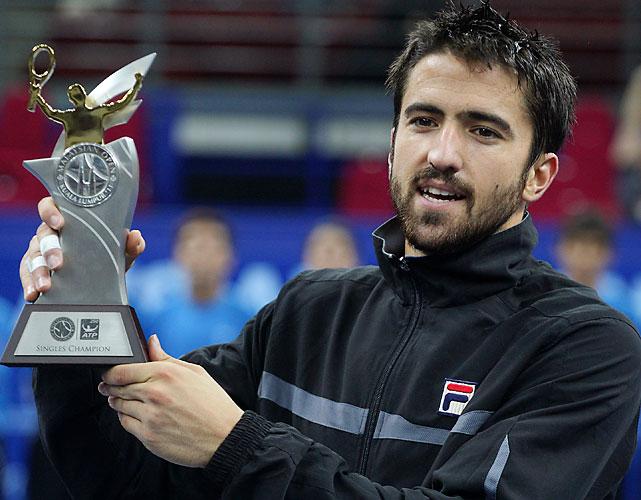 def. Marcos Baghdatis 6-4, 7-5 ATP World Tour 250, Hard (Indoor), $850,000 Kuala Lumpur, Malaysia