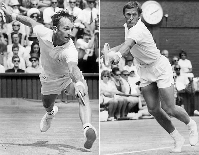 Rod Laver and Tony Roche played a draining 22-20 set ... and then had to play three more sets. This was before the tiebreak rule was introduced. Laver and Roche battled in intense heat in a 1969 semifinal. Laver took the second set and the match, 7-5, 22-20, 9-11, 1-6, 6-3, going on to win the tournament and the calendar Grand Slam, as well.