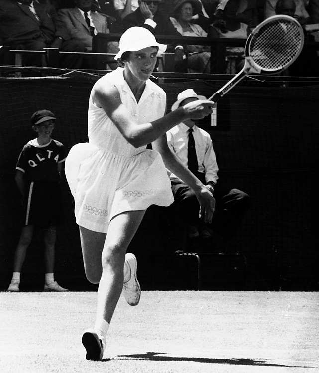 Margaret Court, 17, won the first of her 11 Australian Opens in 1960, when it was still called the Australian Championships. Court defeated Jan Lehane 7-5, 6-2 in the final.  But  Court was young enough to compete in the girls draw, where she  lost  her final to Lesley Turner.