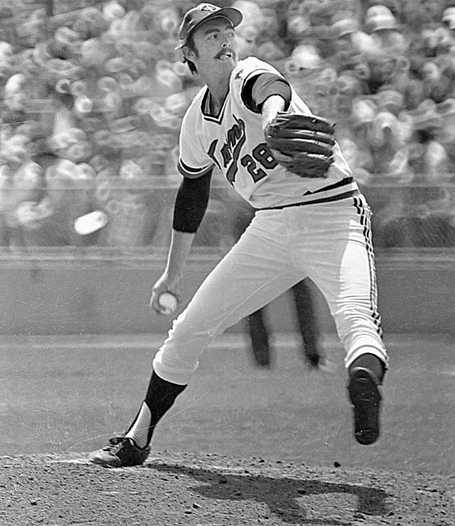 Although Blyleven had double-digit losses in each of the next six seasons, he had an ERA under 3.00 and struck out 200 or more batters each year over that same span. His best season was in '73, when he was an All-Star and had a career best in wins (20), ERA (2.52) strikeouts (258), and a league-high in shutouts (9). In June 1976, Blyleven was traded to the Rangers.