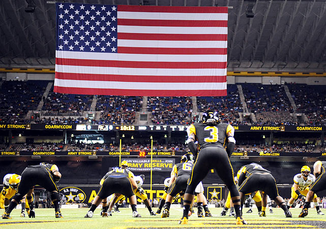 The 12th annual U.S. Army All-American Bowl Game was held on Saturday at the Alamo Dome in San Antonio, featuring many of the nation's premiere high school football players. The East team beat the West squad, 13-10.