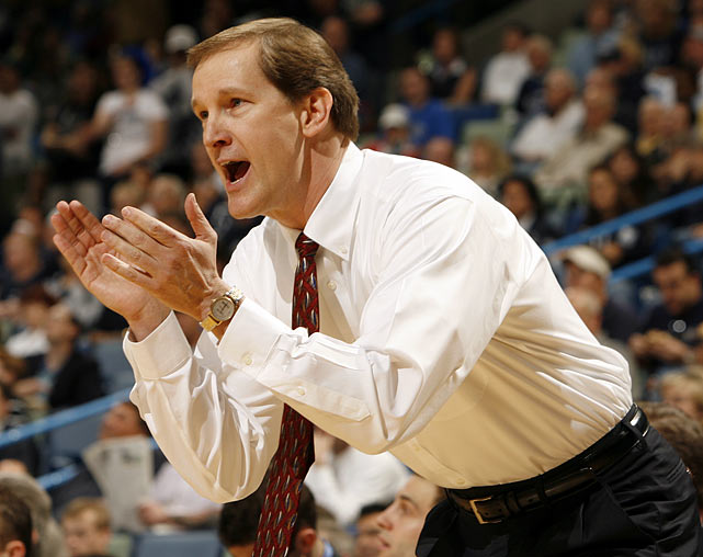 After announcing in 2007 that he would jolt Creighton for Arkansas, Altman cited family reasons and returned a day later.