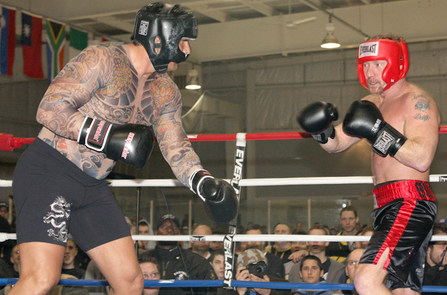 Canseco staged a battle of Celebrity D-Listers when he enlisted radio personality and former child-star Danny Bonaduce for a Celebrity Boxing Match in January 2009. Canseco, a foot taller and 80 pounds heavier at the time, donned a fake body tattoo shirt to further intimidate his counterpart. However, the three-round match ended in a majority draw.