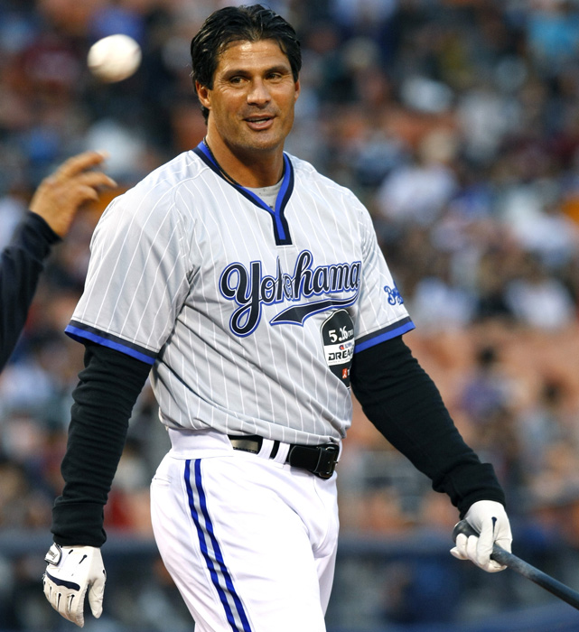 Canseco was a guest player for the Yokohama BayStars in a ballgame in Tokyo in May 2009. He was visiting the country for his MMA debut against Korean fighter Hong Man Choi.