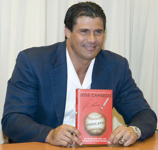 After a flurry of revelations that steroids were prevalent in baseball, Canseco released a second book in 2008,  Vindicated: Big Names, Big Liars, and the Battle to Save Baseball .  In the book Canseco proudly boasts that he launched the Steroid Era and changed the game more than any other player. He also claimed to be the first person to introduce Alex Rodriguez to a steroid distributor. Though A-Rod denied Canseco's claims, he later admitted his steroid use between 2001 and 2003.