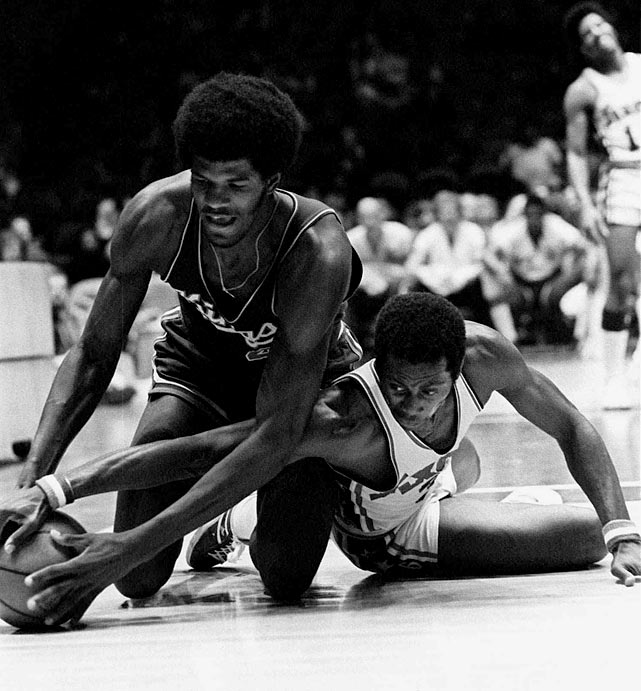 The 9-73 Sixers' record-worst season included a nice little 20-loss streak. That didn't stop leading scorer Fred Carter from trying his hardest to get Philly a victory.