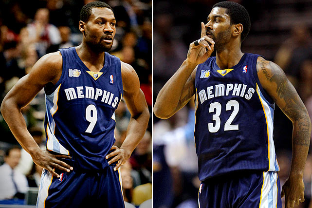 Teammates fighting over a game of Bourre on an airplane -- sound familiar? In a disturbing deja vu of the Gilbert Arenas incident, which started with the card game on an airplane and ended with guns in a locker room, O.J. Mayo and Tony Allen got in a heated argument on the Grizzlies' charter plane. Though the team tried to end discussion of the incident before it got blown out of proportion, it did ban gambling on team flights.