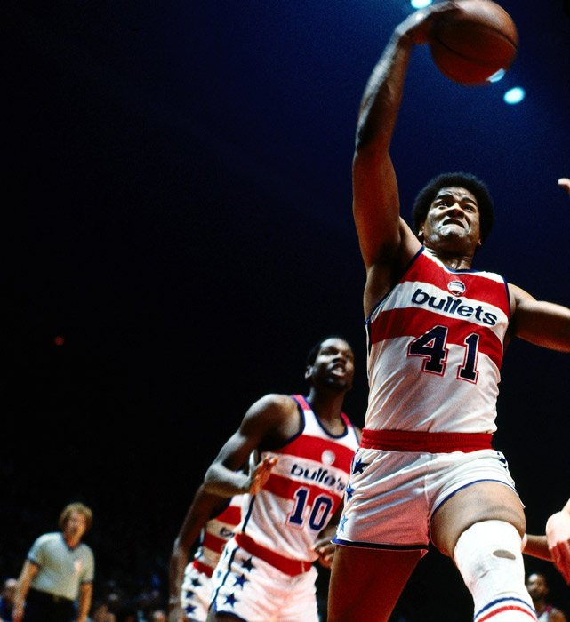 Wes Unseld became the second player in history to win both the Rookie of the Year and Most Valuable Player award in the same season. The center averaged 13.8 points and 18.2 rebounds his first year in the league.
