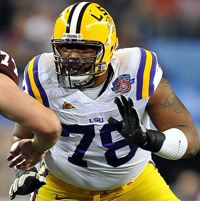 Barksdale quelled any doubt about his ability to hold down the all important left tackle position with his play this week. The senior displayed outstanding technique, strength and wherewithal from the first day of practice. He was never beaten in drills and kept his signal caller upright during full scrimmage. Barksdale improved his draft grade at least a full round with his play this week.