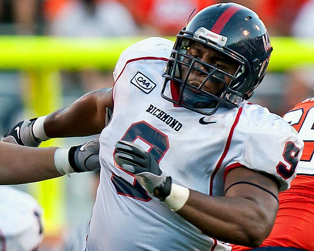 Like his college teammate, Parker proved why he's a highly rated small school prospect. He was extremely quick and consistently beat opposing linemen off the snap, which gave him an advantage. Parker also flashed strength and the ability to defeat blocks once opponents got hold of him. Scouts left Orlando with the feeling Parker has the skills to start in the NFL.