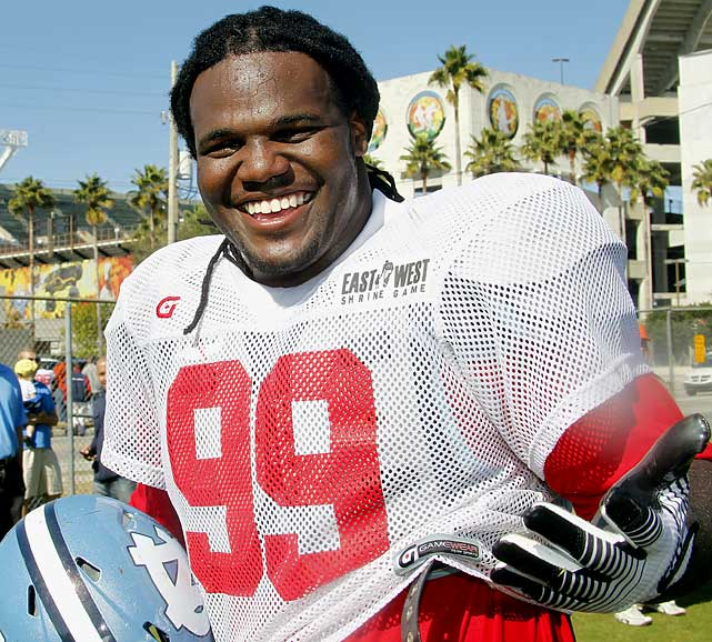 The first major scouting event for the 2011 NFL Draft took place in Orlando Jan. 17-20 as scouts descended upon the Sunshine State to watch more than 100 seniors take part in Shrine Bowl practices. What follows is a list of players who helped themselves most during the week of practice, and a couple who didn't.   The week was vitally important for Austin, who was suspended the entire 2010 season after violations of school and NCAA policy. He responded with a dominant week of practice, answering all questions scouts had about his ability on the field. Austin was virtually unstoppable from day one as he beat opponents off the snap or powerfully overran them when they tried to stop him. Blockers were reduced to double teaming and often holding Austin in an attempt to slow him down. He arrived in shape and ready to perform and leaves Orlando back in the conversation as a potential first-round pick.