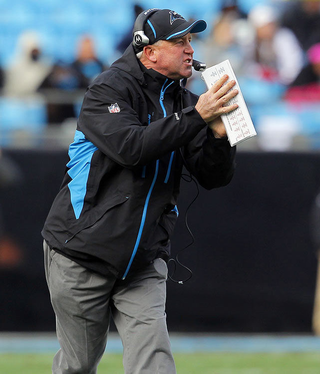 Despite a 2-14 record that got him fired at Carolina, John Fox found a new job quickly. New Vice President of football operations John Elway and the Denver Broncos made him the 14th head coach in franchise history, partly based on his history of coaching competitive defenses turning teams around. Fox inherited a 1-15 Panthers team in 2002 and promptly took the team to the Super Bowl in 2003.