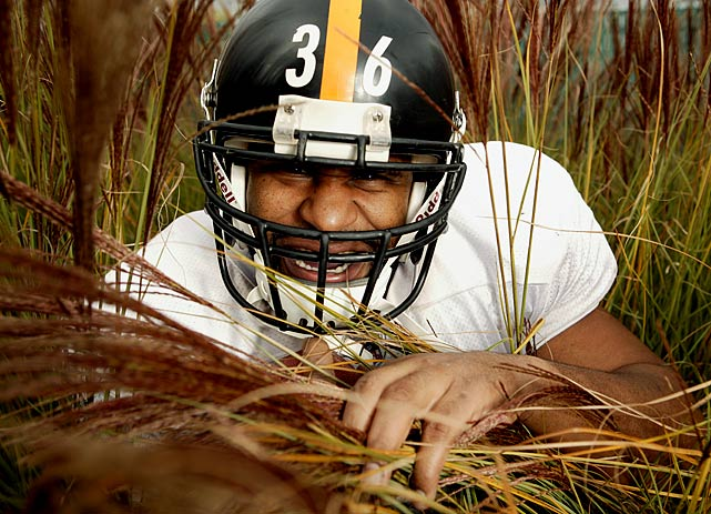 """Jerome """"The Bus"""" Bettis, known for bulldozing defenders as a punishing runner, retired after the Steelers won Super Bowl XL in his hometown of Detroit. Bettis spent the last 10 years of his 13-year career with the Steelers. His 13,662 career rushing yards rank fifth all time."""