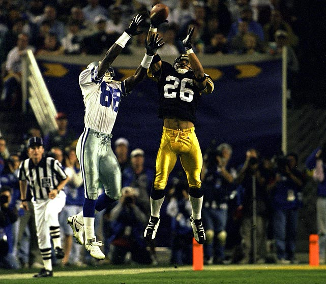 After missing the entire regular season and most of the postseason because of a torn ACL suffered in Week 1, defensive back Rod Woodson returned to play in Super Bowl XXX in 1996. Although the Steelers lost 27-17, his comeback was a big storyline.