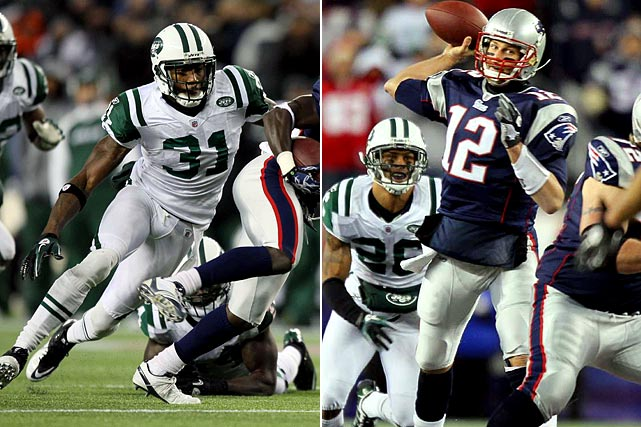 "The last thing you want to do is poke the bear -- or in this case, the best quarterback in the NFL. But the Jets' style isn't exactly understated, and Cromartie challenged Brady to a throwdown this week by calling him an ""ass--'' and daring him to throw his way. Oh, he will, Antonio. He will. Brady didn't take the bait, saying Wednesday, ""maybe [Cromartie] really likes me."" But especially with Darrelle Revis on the other side of the field, here comes a big, heaping dose of Brady. Can Cromartie handle it?"
