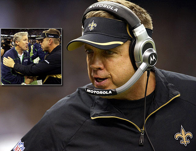 "Overconfidence sounds ludicrous to even suggest given the high stakes involved in an NFL playoff game. But the 7-9 Seahawks are overmatched in virtually every way by the loaded Saints. This is where Payton comes in. The Saints enter as a 10.5-point favorite, the largest margin ever for a road playoff team. They also already have defeated the Seahawks 34-19. Players are dropping the usual cliches like, ""throw out the stats"" and ""it's a new season."" Payton must have his squad focused and ready. The one thing Seattle does well is play better at home ... a close game late in a loud environment and something crazy could happen."