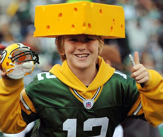 green bay cheese head