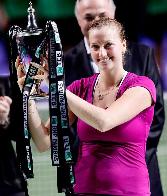 def. Victoria Azarenka 7-5, 4-6, 6-3 Season-Ending Championships, Hard, $4,900,000 Istanbul, Turkey