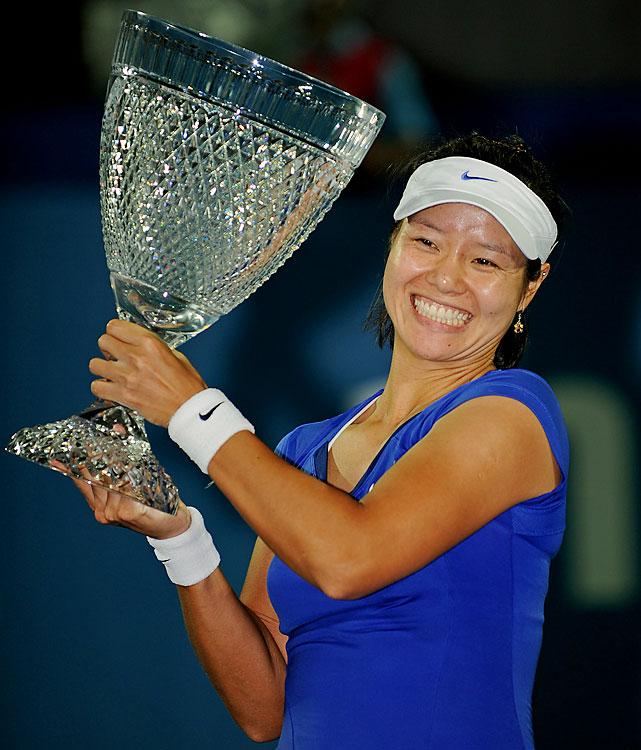 def. Kim Clijsters, 7-6 (3), 6-3 WTA Premier, Hard (Outdoor), $618,000 Sydney, Australia