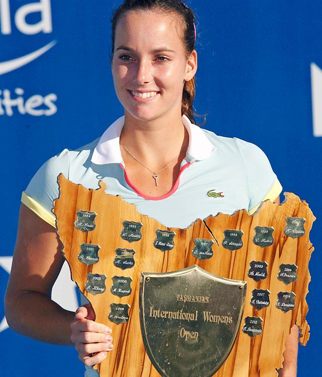def. Bethanie Mattek-Sands, 6-4, 6-3 WTA International, Hard (Outdoor), $220,000 Hobart, Australia